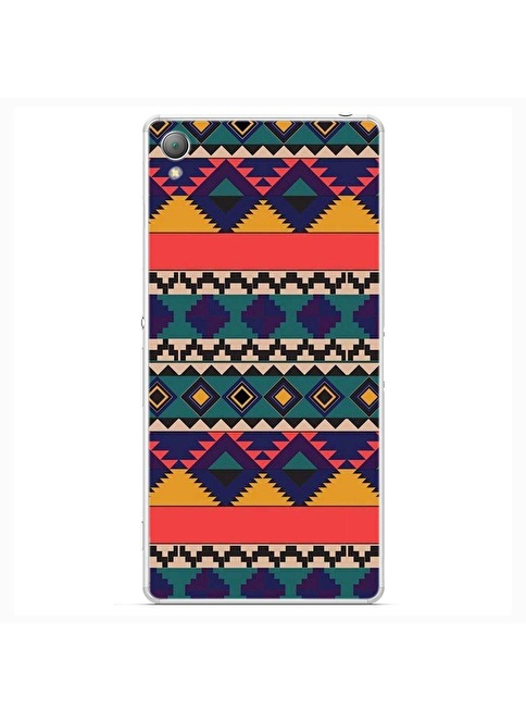 People's Cover Xperia Z3 Kabartmalı Kapak Renkli